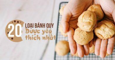 20 loại bánh quy tuyệt ngon luôn được yêu thích nhất - 20 Best-ever Yummie Cookies