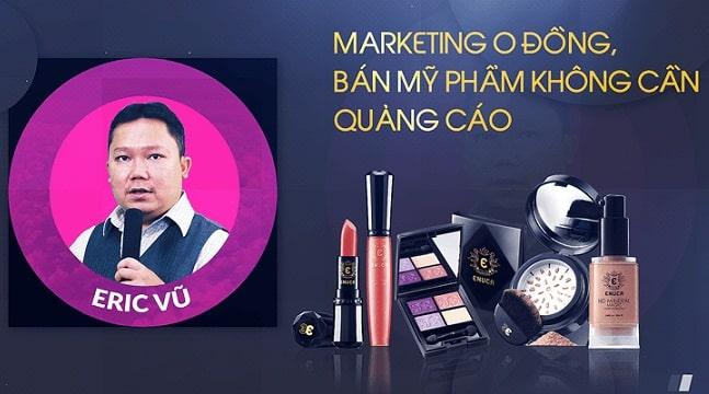 Marketing 0 đồng, bán mỹ phẩm không cần quảng cáo