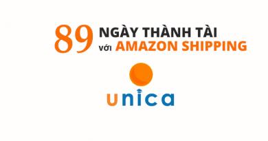 89 ngày thành tài với Amazon shipping