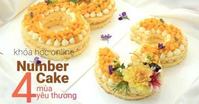 Combo 3 khóa làm bánh đẹp cùng Mẹ Nghé
