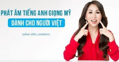 Phát âm tiếng Anh giọng Mỹ dành cho người Việt