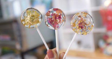 Tự tay làm kẹo mút Lollipop siêu xinh yêu Xin 1001 vé đi tuổi thơ