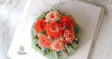 Xôi hoa đậu phong cách Hàn - Yêu từ cái nhìn đầu tiên