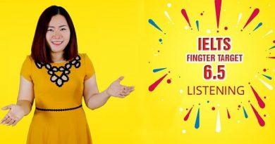 IELTS FINGTER TARGET 6.5 Listening