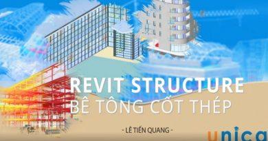 Revit Structure bê tông cốt thép