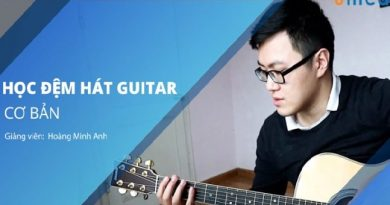 Đệm hát Guitar căn bản