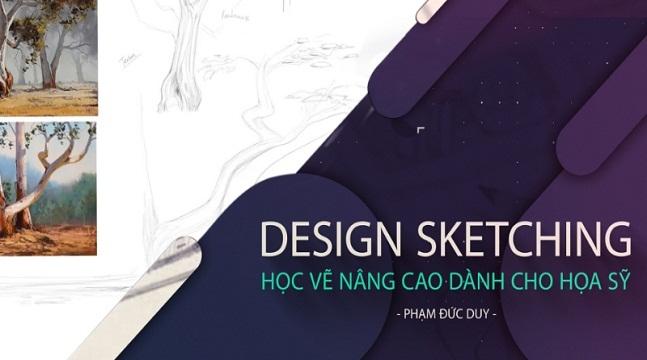 Design Sketching - Học vẽ nâng cao dành cho họa sỹ