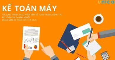 Kế toán máy: Thành thạo phần mềm kế toán doanh nghiệp Fast và Misa