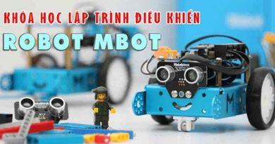 Khóa học lập trình điều khiển robot mBot