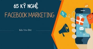 65 Kỹ nghệ Facebook Marketing