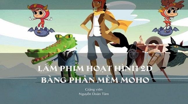 Làm phim hoạt hình 2d bằng phần mềm Moho
