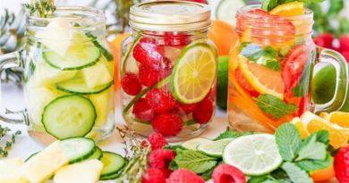 Làm đẹp tại nhà siêu đơn giản và tiết kiệm với nước detox