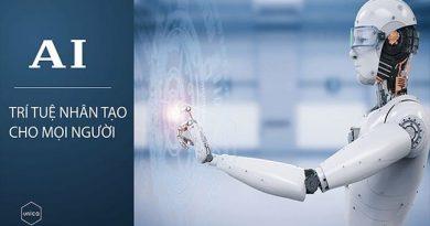 AI - Trí tuệ nhân tạo cho mọi người