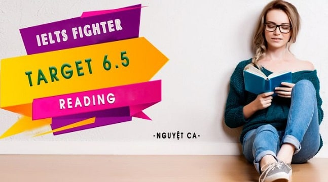 IELTS Fighter Target 6.5 Reading