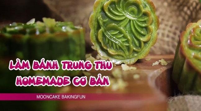 Làm bánh trung thu homemade CƠ BẢN