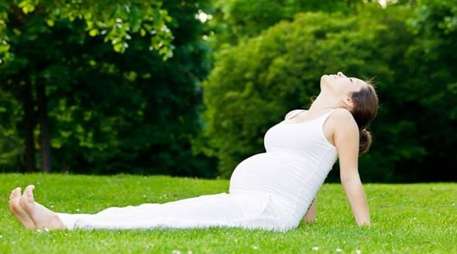Yoga bầu - thai giáo