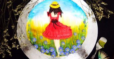 Bánh vẽ kem topping cơ bản Thổi hồn vào bánh với nghệ thuật vẽ tranh