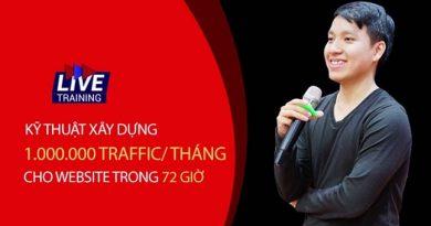 Kỹ Thuật Xây Dựng 1.000.000 Traffic/Tháng Cho Website Trong 72 Giờ