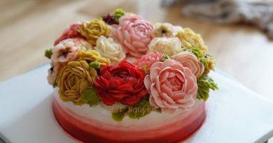 Xử lý chất liệu Chantyflix Cream trong trang trí bánh kem – Ngon, lành, đẹp, dễ