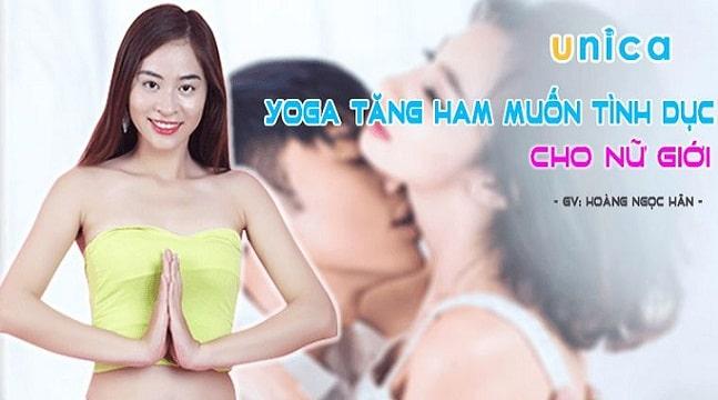 Yoga tăng ham muốn tình dục cho nữ giới