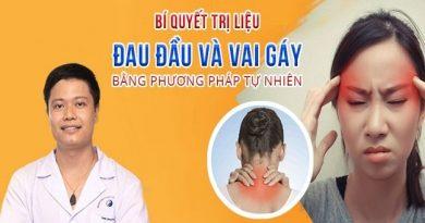 Bí quyết trị liệu đau đầu và vai gáy bằng phương pháp tự nhiên
