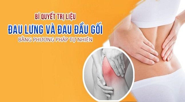 Bí quyết trị liệu đau lưng và đau đầu gối bằng phương pháp tự nhiên