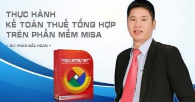 Thực hành kế toán thuế tổng hợp trên phần mềm Misa