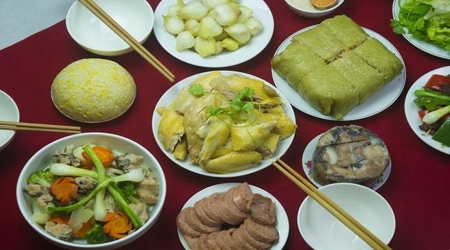 Món ngon ngày Tết – Tự tay làm cỗ Tết, cơm đãi khách thật đơn giản