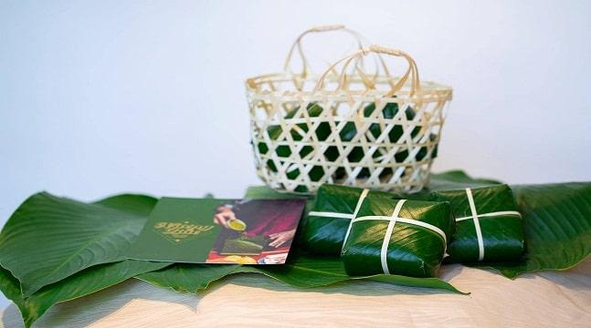 Set nguyên liệu làm bánh chưng xanh dẻo ngon tại nhà – Hướng dẫn gói bánh chưng Nương Bắc homemade chi tiết