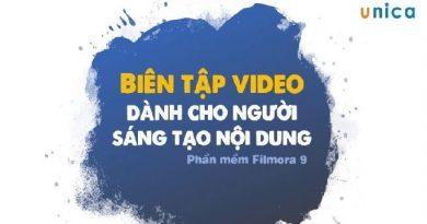 Biên tập video chuyên nghiệp cùng Filmora9