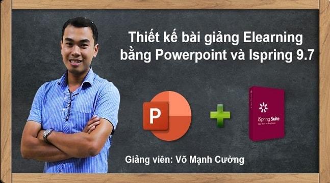 Thiết kế bài giảng elearning với Powerpoint 365 hoặc 2019 và Ispring 9.7