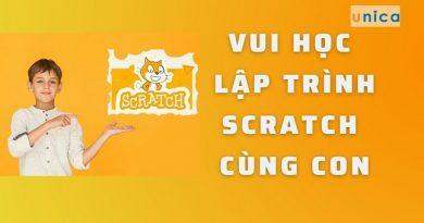 Vui học lập trình Scratch cùng con